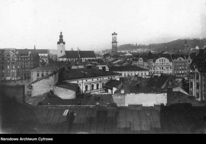 Панорама Львова, 1880-1939 рр.