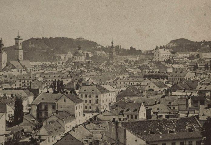 Панорама міста Львова, 1865 р.