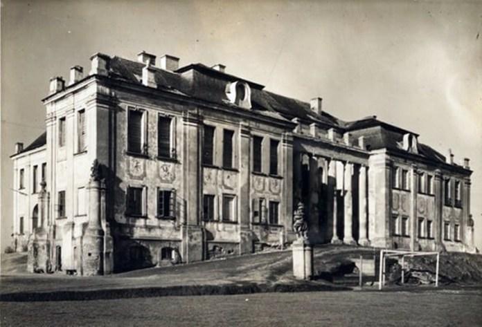 Старий палац до пожежі
