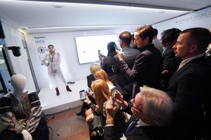 Колекція Ukrainian Haute Couture  Оксани Караванської в Давосі