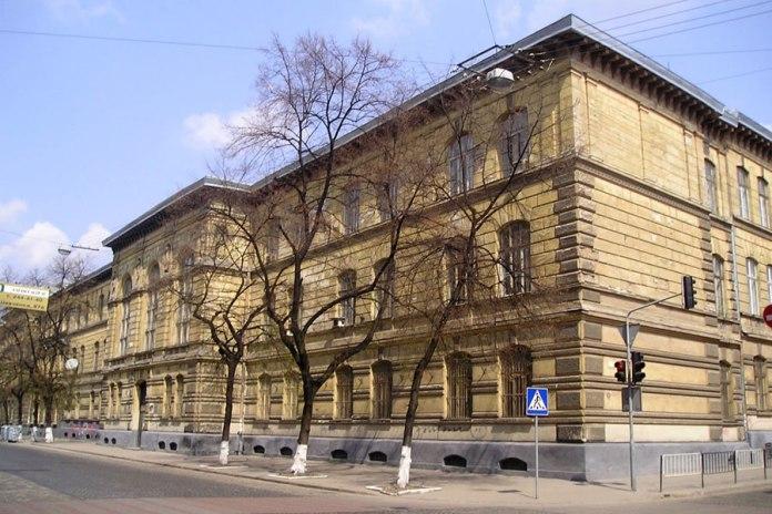 Одна з перших львівських шкіл Ю. Гохберґера – гімназія імені Франца-Йосифа I