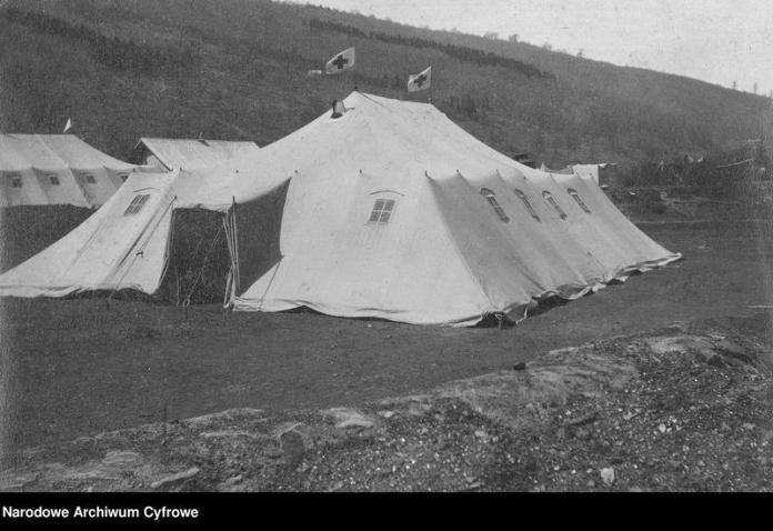 Санітарно-епідеміологічна служба в Галичині у 1915 році