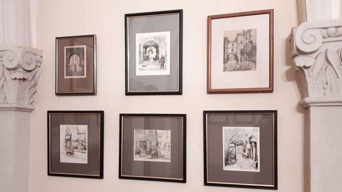 """Експозиція """"Графіка львівських митців ХХ ст.: 1900—1960 рр."""""""