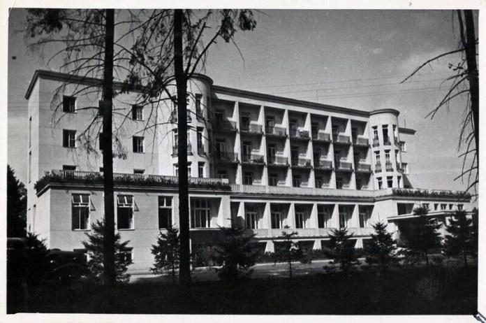 Моршин. Будинок відпочинку, 1936 р. Фото: Софія Хоментовська