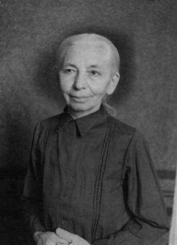 Юстина Звіринська - мати художника, сер. 1950-х рр