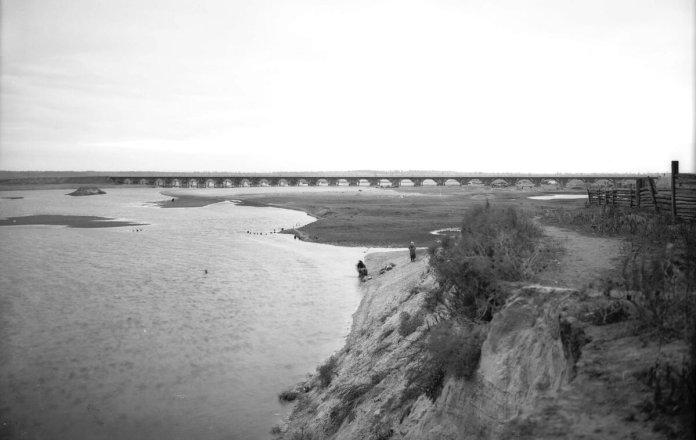 Міст біля села Глушиця неподалік Сарн