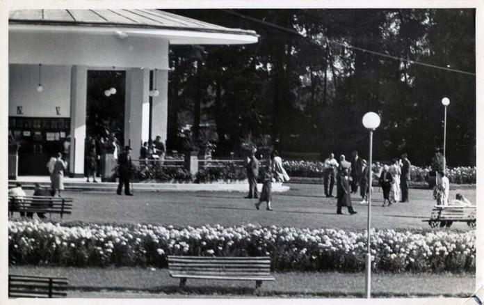 Відпочиваючі в Моршині, 1936 р. Фото: Софія Хоментовська