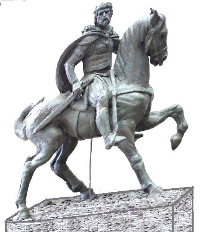 Проект пам'ятника Великому князю Роману Мстиславовичу