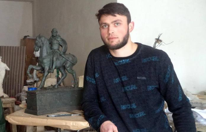 Автор проекту пам'ятника Великому князю Роману Мстиславовичу Василь Лев