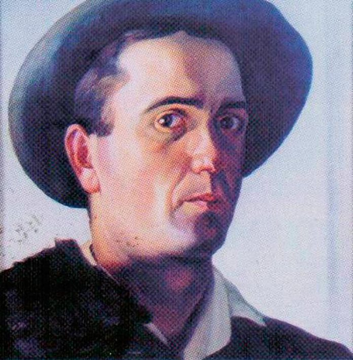 Василь Дядинюк. Автопортрет, 1929