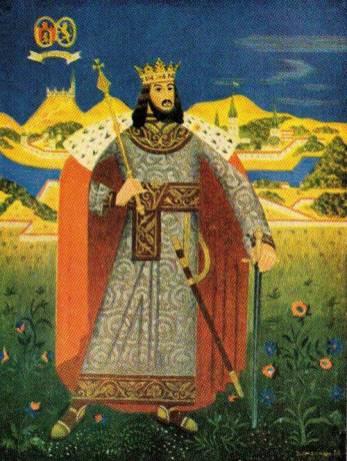 Василь Дядинюк. Король Данило (серія «Володарі України»), 1930-ті рр.