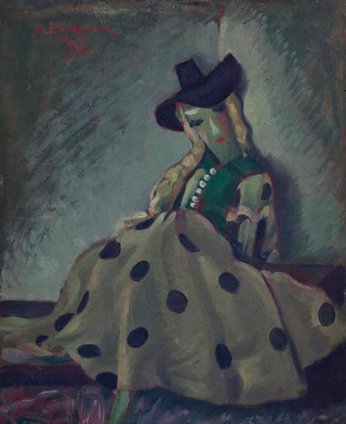 Василь Дядинюк. Лялька. Париж, 1935