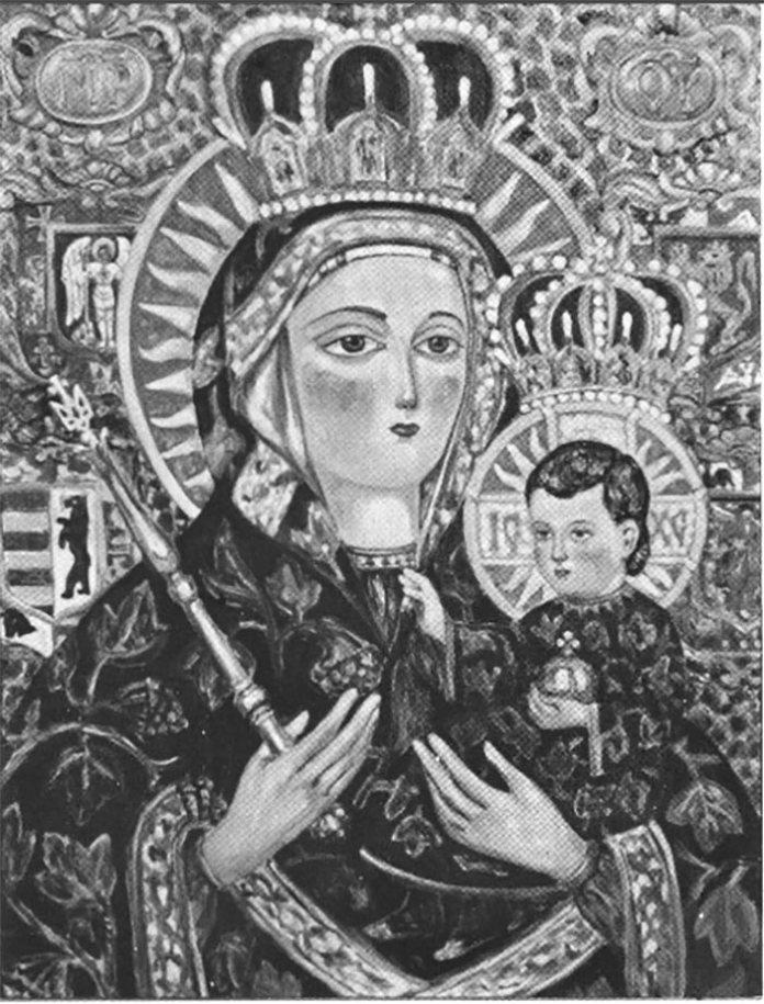 Степан Луцик. Студія до «Мадонни Перемоги», 1952 – 1954