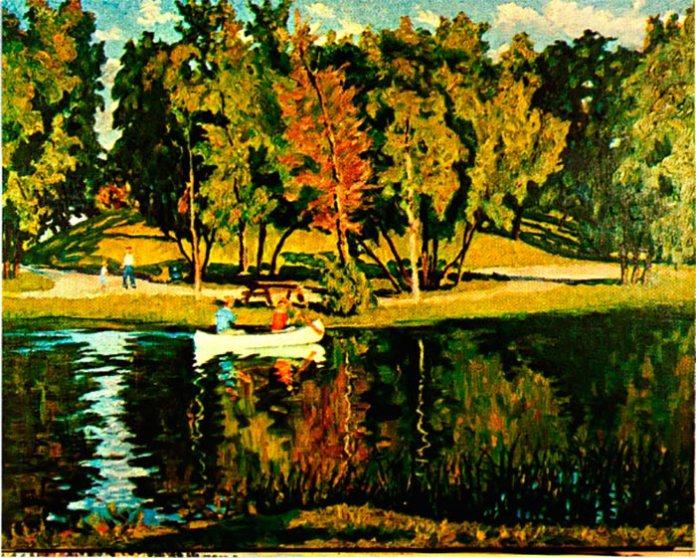 Степан Луцик. На озері, 1962