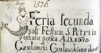 Карикатурнi зображення львiвських вiрмен Норсеса i Норсесовоi, 1670 рiк, archives.gov.ua