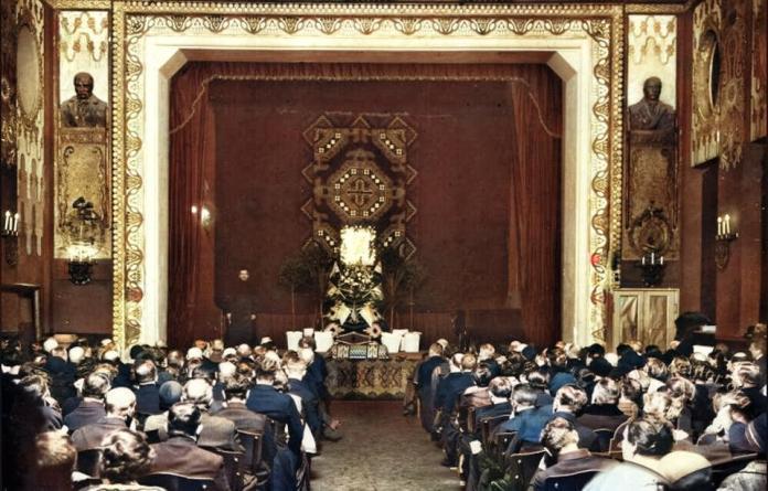 Фото Великої зали Музичного товариства ім.М.Лисенка