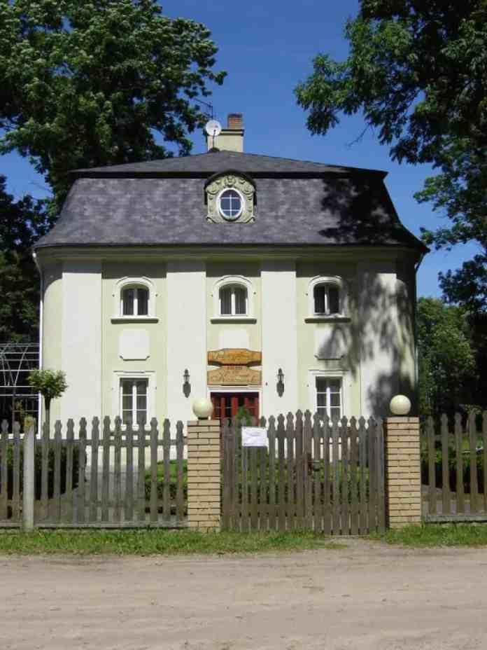 Будинок, де мешкав Косцюшко, вчителюючи в Сосновського. Сучасний вигляд