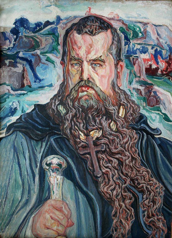 Олекса Новаківський. «Мойсей» (портрет митрополита Андрея Шептицького), 1915 – 1919 рр.