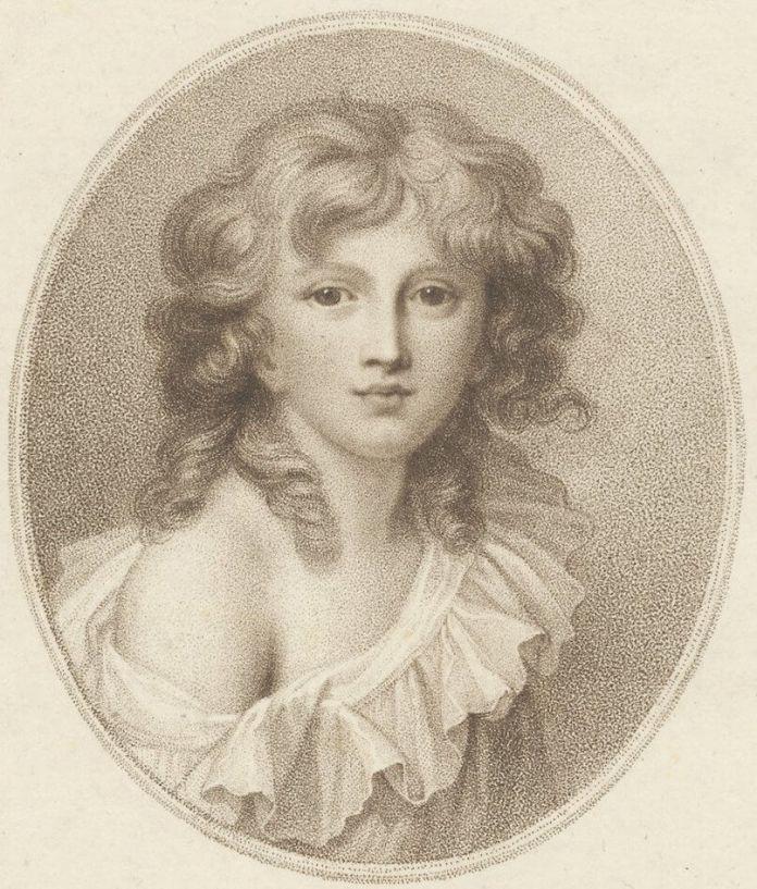 """Ричард Косвей """"Мініатюрний портрет принца Генрика Любомирського"""", 1787 рік"""