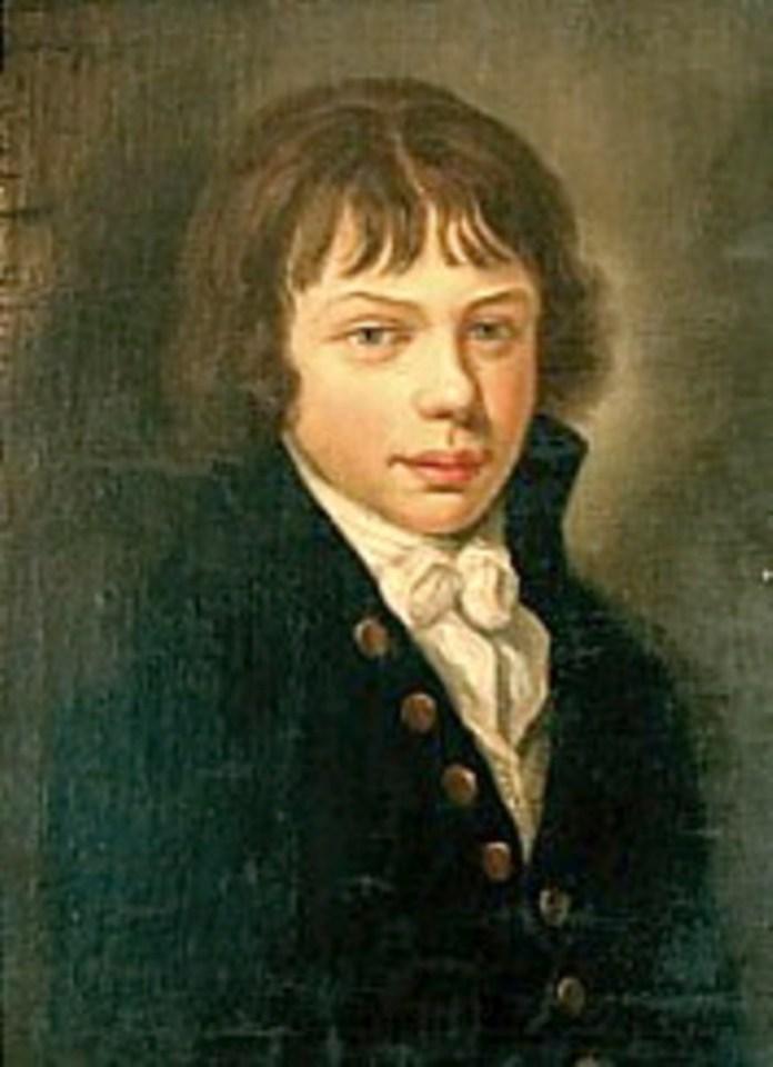 Тадеуш у віці 15 років