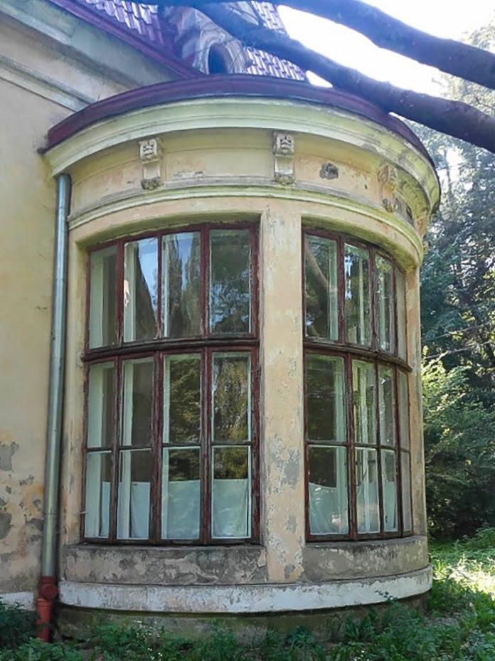 На частину палацу в 2018 році впало дерево… Світлила Леся Малахівська