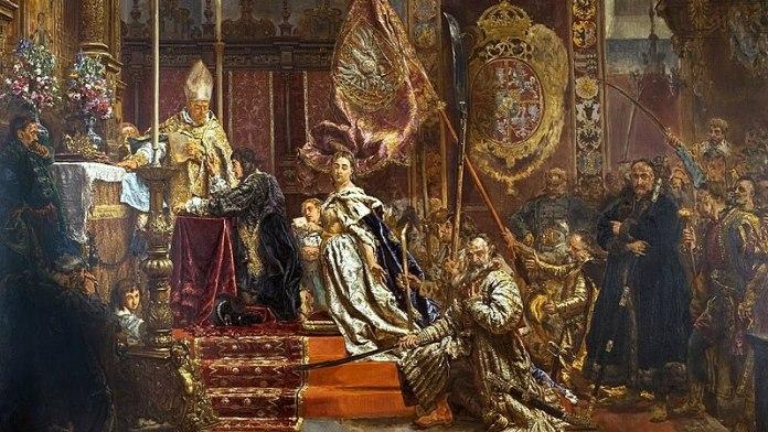 Клятва Яна Казимира у латинській катедрі. Фото з https://uk.m.wikipedia.org/