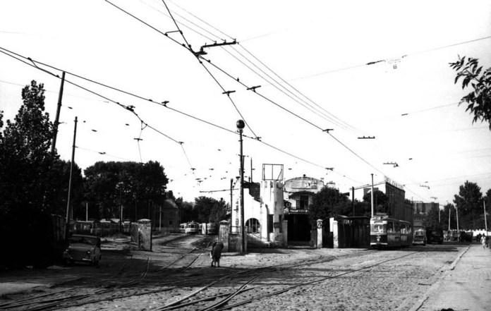 Трамвайне депо № 2 на вулиці Промисловій, 29 в 1970 році