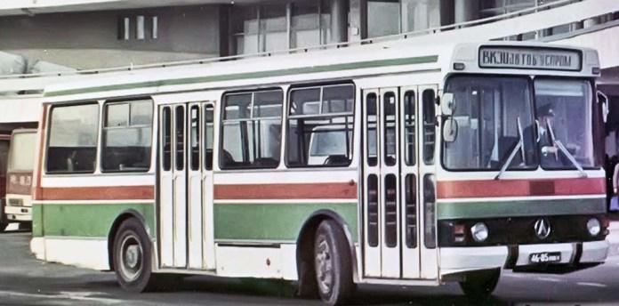 Автобус ЛАЗ-4202, експериментальний зразок. 1978 р.