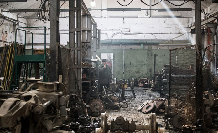 Візкова дільниця трамвайного депо/ВРМ на вулиці Городоцькій, 185. Початок 2017 р.