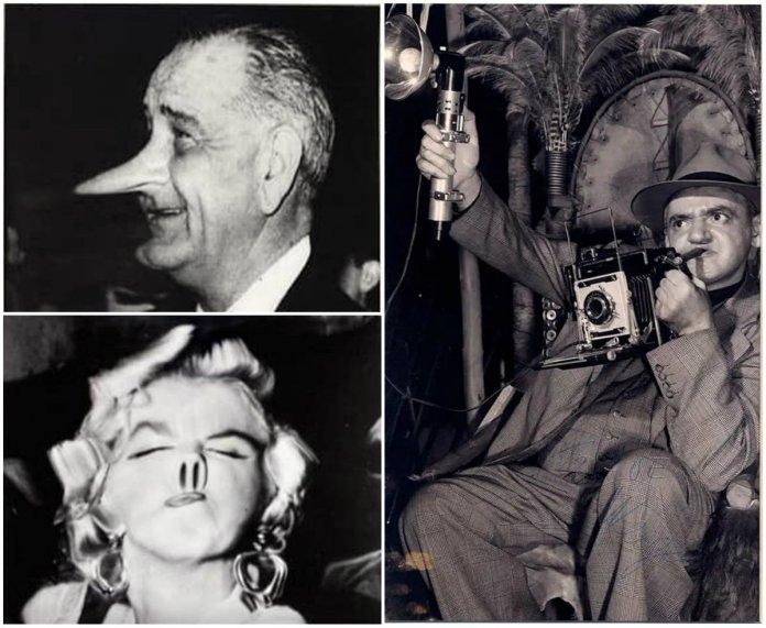 """Артур Віджі та його серія """"спотворених"""" портретів знаменитостей"""