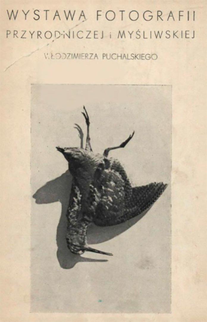 Перша сторінка путівника виставки Володимира Пухальського, 1938 рік