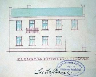 Проект оновлення будівель виконав знаний луцький архітектор Казимир Школьницький
