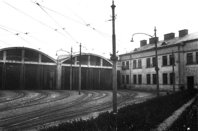 Профілакторій трамвайного депо № 1. 1930 р.