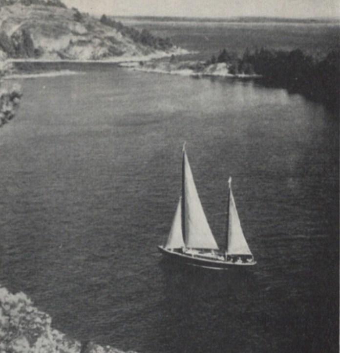 Біля фьордів Скандинавії, 1937 р.