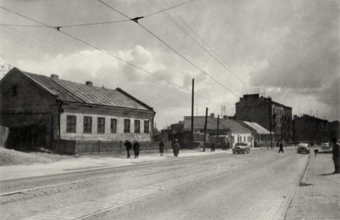 Львів, район вулиці Шевченка, квітень 1960 року. Світлина Юліана Дороша