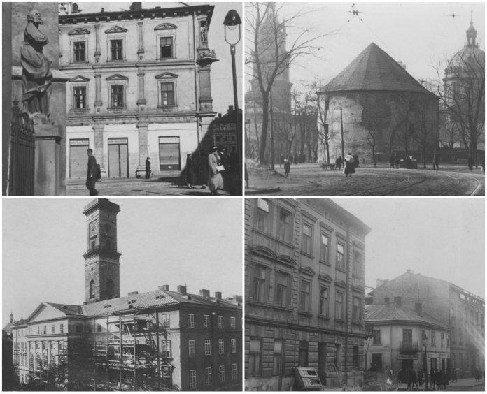 Львівські вулиці на фото 1930-х років