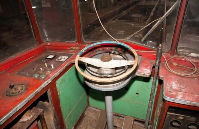 Пульт керування вантажним трамвайним вагоном на основі «Gotha T2-62»