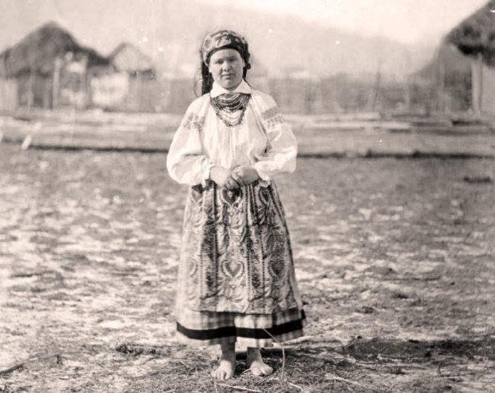 Жінка з Волині. 1878 р. Джерело: Центр дослідження та відродження Волині