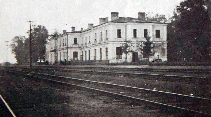 Залізничний вокзал станції Радивилів. Світлина початку 1910-х років