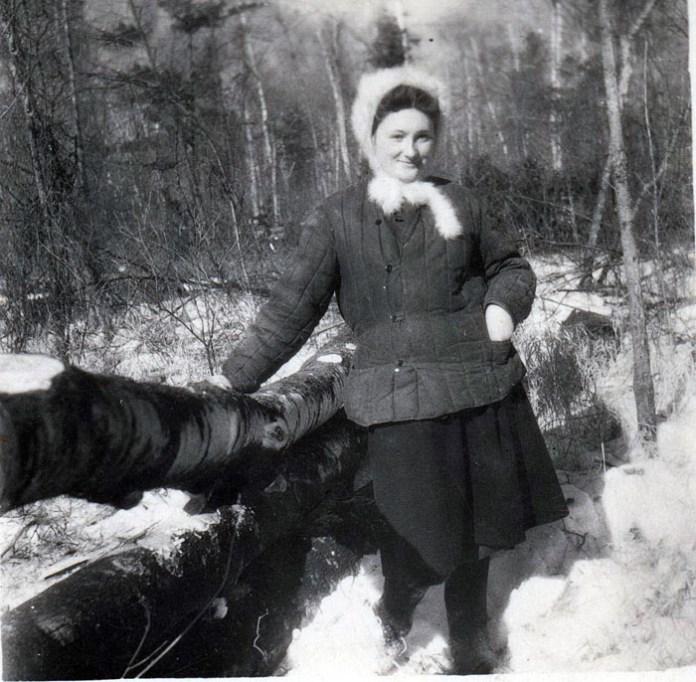 Галина Зеленко на засланні, 1951 р.