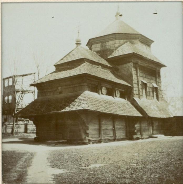 Церква Святої Трійці, 1900-ті р.