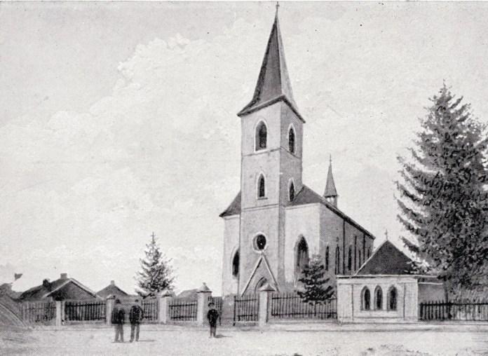 Парафіяльний костел, 1906 р.