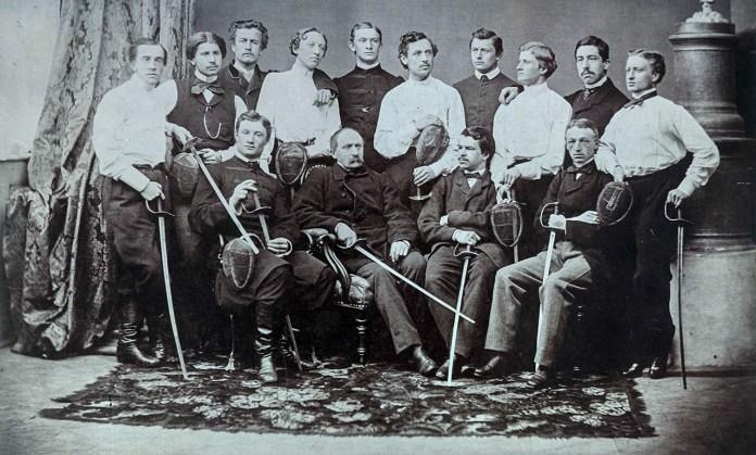 Школа фехтувальників у Львові, 1863 р.