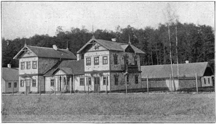 Мисливські будівлі в Пилявині, поч. ХХ ст