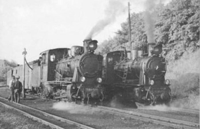 Паровози на Боржавській вузькоколійній залізниці. 1920-ті рр.
