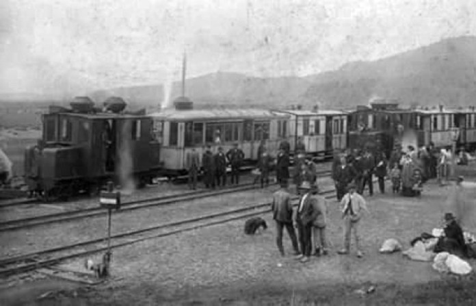 Пасажирські поїзди Боржавської вузькоколійки. 1920-ті рр.