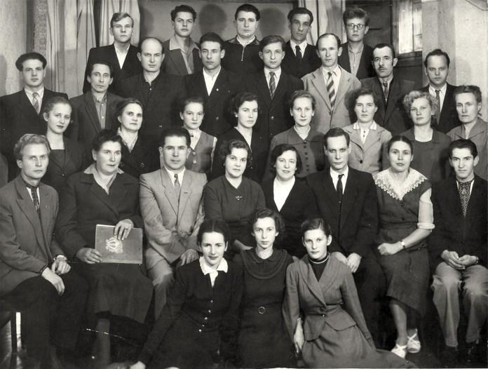 Курси вчителів співів V–X класів. 1961 рік. З приватного архіву Анни Благітки