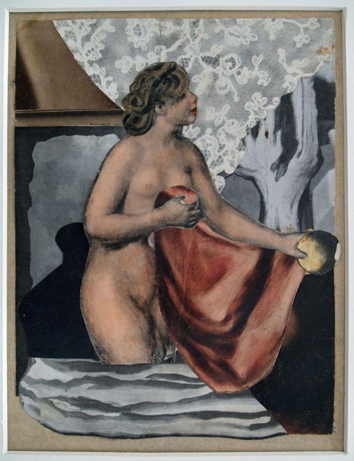 Марґіт Сельська, Єва, 1934, Фотоколаж.