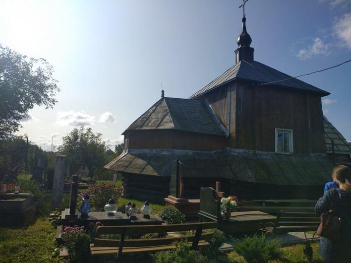 Церква Вознесіння Господнього у селі Завада