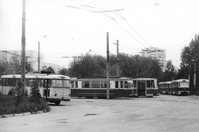 Службовий вагони «Gotha Т2-62», який належав ЛТТРЗ. Фото 1989 року